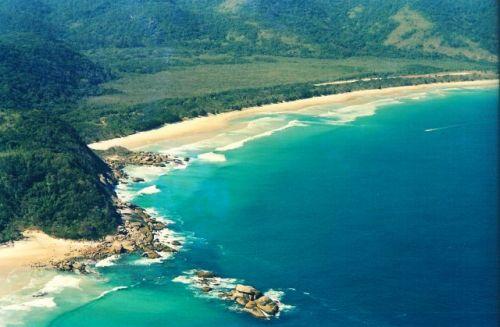 Bareboatzeieln Brazilie Angra dos Reis - strand van Lopes Mendes