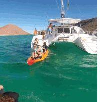 Bareboatzeilen Mexico La Paz op de Golf van Cortez of Californische Golf